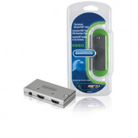 2-Port HDMI Switch Silver