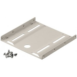 2.5'' hard disk installation frame to 3.5'', beige - suitable for installation of a 2.5'' hard disk in a 3.5'' housing slot
