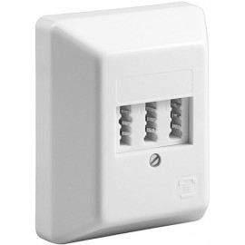 3x TAE-NFF wall mount box, beige - screw mount