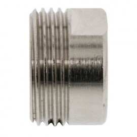 Adapter 1/2 x 3/4 Silver