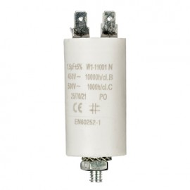 Capacitor 1.5uf / 450 v + earth Cod EAN: 5412810230693