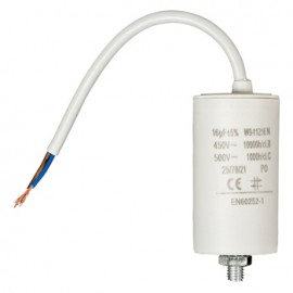 Capacitor 16.0uf / 450 V + cable