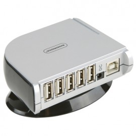 7-Port Hub USB 2.0 Grey