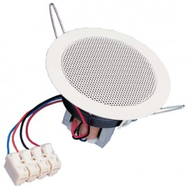"8 cm (3.3"") ceiling-mounted speaker"