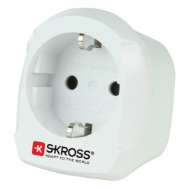 Adaptor priza EU ->UK Skross Cod EAN: 7640112218356