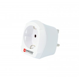 Adaptor priza EU ->UK Skross Cod EAN: 7640166320265