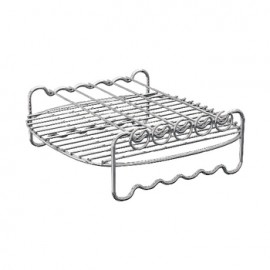 Air Fryer Rack Silver