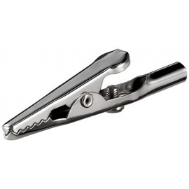 alligator clip with screw - length 51 mm