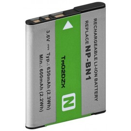 Camera Replacement battery BA2015, NP-BN1 - for ALPHA-Serie, DSC-TX5, DSC-TX7, DSC-TX7C, DSC-W310, DSC-W320, DSC-W330, DSC-W350, DSC-W360, DSC-W380, DSC-W390, DSC-WX200,