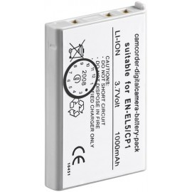 Camera Replacement battery EN-EL5, CP1 - for Coolpix 3700, Coolpix 5200, Coolpix 5900, Coolpix P5000, Coolpix P6000, Coolpix P80