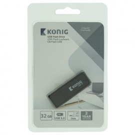 Flash Drive USB 3.0 32 GB Black