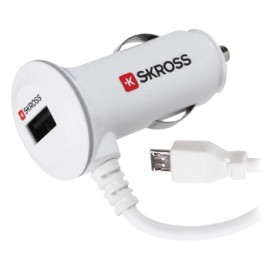 Car Charger 1-Output 2.1 A USB White
