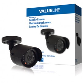 Bullet CCTV Camera 420 TVL IP44 Black