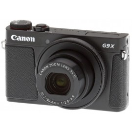 "Camera foto Canon PowerShot G9X II black, 20.1 MP, CMOS ,3 x zoom optic, 3.0"" ecran tactil, WiFi,stabilizator optic de imagine IS, DIGIC 7 , ISO 125-12800, FHD movies 60 fps, fotografii extraordinare in conditii de iluminare redusa, compatibil SD/SDH"