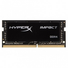 Memorie RAM Kingston, SODIMM, DDR4, 4GB, 2400MHz, CL14, HyperX Impact Black, 1.2V