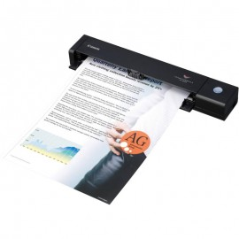 Scanner Canon P-208II portabil, dimensiune A4, tip portabil, viteza scanare  8ppm alb-negru si color, duplex, rezolutie optica 600dpi, rezolutie hardware 600x600dpi, senzor CIS, interfata: USB 2.0, software inclus: Driver ISIS /TWAIN, CaptureOnTouch, Capt