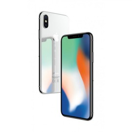 Apple Iphone X Silver 64GB, Super Retina HD display, 5.8-inch (diagonal) all-screen OLED Multi-Touch HDR display, 2436-by-1125-pixel resolution at 458 ppi, 1,000,000:1 contrast ratio (typical), True Tone display, Wide color display (P3), 3D Touch, 625 cd/