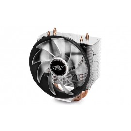 CPU Cooler Deepcool GAMMAXX 300, Voltage 12 VDC, Operating Voltage 10.8 – 13.2 VDC, Power input 1.56W, Max Air flow 55.50 CFM, Noise 17.8 – 21 dB, Red.