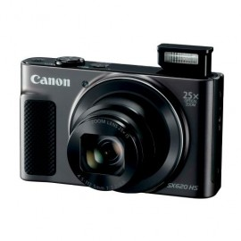 "Camera foto Canon PowerShot SX620 HS Black, 20.2 MP, senzor CMOS,25x zoom optic, 3.0"" LCD, stabilizator optic de imagine IS, DIGIC 4 +,ISO3200, Wi-Fi, NFC, filmare Full HD , compatibil SD/SDHC/SDXC,HDMI micro, acumulator Li-ion."