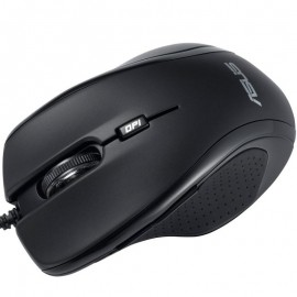 AS MOUSE UX300 WIRED BLACK