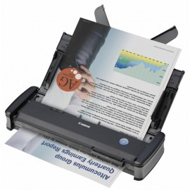 Scanner Canon P-215II, dimensiune A4, tip portabil, viteza scanare  12ppm alb-negru si 10ppm color, duplex, rezolutie optica 600dpi, rezolutie hardware 600x600dpi, senzor CIS, interfata: USB 2.0, software inclus: Driver ISIS /TWAIN, CaptureOnTouch, Captur