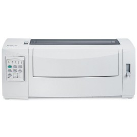 Imprimanta matriceala Lexmark 2590+, 24 ace, Rezolutie 360x360 dpi, Memorie 512 MB, Viteza de imprimare 556 cps Fast Draft, 480 cps Draft si 160 cps  Near Letter Quality, alimentator tractor in partea din fata, Paralel bidirectional si USB , Linie maxima