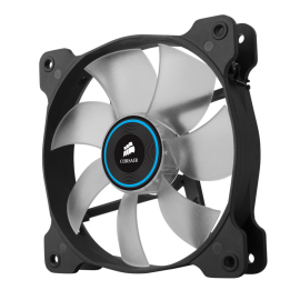 Cooler carcasa Corsair AF120 LED Low Noise Cooling Fan, 1500 RPM, Triple Pack - Blue