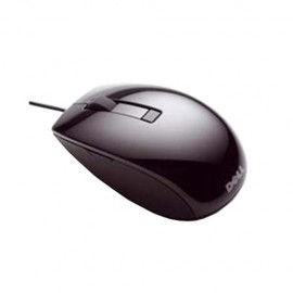 Dell Mouse Laser, 6 buttons, scroll, wired, USB conectivity , Color: Black