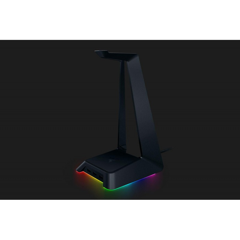 Base Station Chroma Razer, Detachable headphone stand,Full programmable with Razer Synapse, Anti-slip feet, Access to Chroma lighting effects via Synapse, 3 USB 3.0 SuperSpeed ports, Quartz.