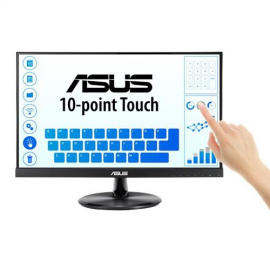 "Monitor 21.5"" ASUS VT229H, 10-point multi-touch, IPS, FHD 1920*1080 ,Glare, 7H Hardness, 16:9, 60 Hz, 250 cd/mp, 1000:1/ 100M:1, 178/178, 5ms, Flicker free, low blue light, boxe 2* 1.5W, HDMI, D-Sub, audio 3.5mmMini-Jack, USB 2.0, VESA 100*100, Kensi"