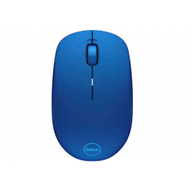 Dell Mouse WM126 Wireless 1000 dpi, 3 buttons, Scrolling wheel, wireless receiver, Color: Blue
