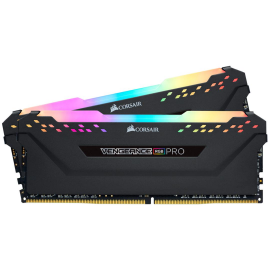 Corsair Memory Kit, Vengeance RGB PRO, 16GB DDR4 (2x8GB), 3200 MHz, SPD Speed 2133MHz, SPD Voltage: 1.2V, Performance Profile: XMP 2.0, Memory Pin: 288.