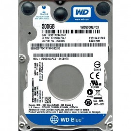 "HDD intern notebook WD 2.5"", 500GB, Blue, SATA3, 5400RPM, 8MB, 6.8mm grosime, w/ AdvFormat"