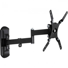 """Articulating wall mount Philips for up to 42"""" - universal; Supports weights of up to 25kg (55lbs); Supports curved screen TV and Flat TV; Total movement; Compatible with VESA wall mounting: 100 x 100 mm, 200 x 100 mm, 200 x 200 mm."""