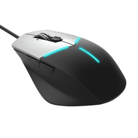 DL Mouse gaming Alienware Advanced AW558, Wireless 5000 dpi, 9 buttons, Cable Length 1.8 m, Weight: 120g, Color: Black, silver