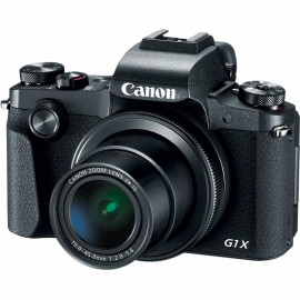 "Camera foto Canon PowerShot G1X Mark III, 24.2 MP, APS-C CMOS, Procesor Digic 7, aspect ratio 3:2,3x zoom optic,3.0"" vari-angle LCD TFT PureColor II G LCD, stabilizator optic deimagine IS, ISO 100-25600, Full HD movies 59.94 fps,compatibil SD/SDHC/SD"