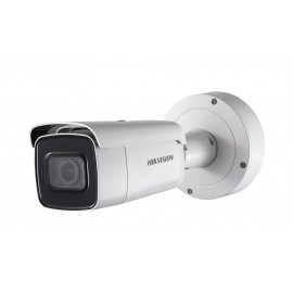 Camera de supraveghere Hikvision IP Bullet Outdoor, DS-2CD2645FWD-IZS (2.8-12mm); 4MP; Powered by Darkfighter; 4MP @30fps, 1/2.7 Progressive Scan CMOS, Color 0.009 lux, 120dB WDR, H.265+/MJPEG, EXIR, up to 50m, IP67, IK10, 1-ch alarm input and 1-ch alarm