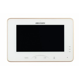 Monitor videointerfon color Hikvision DS-KH8300-T, 7-InchColorfulTFTLCD ,Capacitive Touch Screen, Touch Key, Display Resolution:1024 ×600,10/100Mbps Self-Adaptive Ethernet, Alarm Input 8-ch AlarmInputSensor,12 VDC/24VDC, Power Over Network Cable, Dimensio