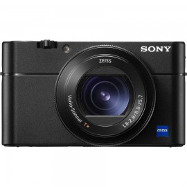 "Camera foto Sony DCS-RX100 M5 Black, 20.1 MP, senzor CMOS Exmor RS 1"" (13.2x 8.8 mm), zoom optic 2.9x, 3"" TFT LCD, optical SteadyShot, Filmare 4K, ISO 125- 12800, WiFi, NFC, compatibil SD/SDHC/SDXC, acumulator NP- BX1, culoare negru"