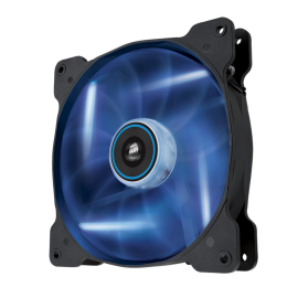 Cooler carcasa Corsair AF140 LED Low Noise Cooling Fan, 1200 RPM, Dual Pack - Blue