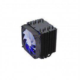 Cooler CPU FSP Windale 6 AC601, racire cu aer, ventilator 1x120mm PWM, 600-1600 RPM, radiator aluminiu, 6x heatpipe-uri aluminiu, Socket Support: FM1/2, AM2/3/4, LGA: 775, 1150, 1155, 1156, 1366, 2011