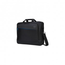 Dell Notebook carrying case Latitude, 15 inch, Padded, water resistant, plush-lined interior, durable exterior, Shoulder carrying strap, trolley strap, grab handle, black