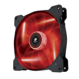 Cooler carcasa Corsair AF140 LED Low Noise Cooling Fan, 1200 RPM, Single Pack - Red