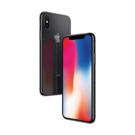Apple Iphone X Space Grey 64GB, Super Retina HD display, 5.8-inch (diagonal) all-screen OLED Multi-Touch HDR display, 2436-by-1125-pixel resolution at 458 ppi, 1,000,000:1 contrast ratio (typical), True Tone display, Wide color display (P3), 3D Touch, 625
