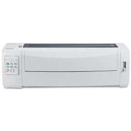 Imprimanta matriceala Lexmark 2591n+, 24 ace, Rezolutie 360x360 dpi, Memorie 512 MB, Viteza de imprimare 556 cps Fast Draft, 480 cps Draft si 160 cps  Near Letter Quality, alimentator tractor in partea din fata, Paralel bidirectional si USB , Linie maxima
