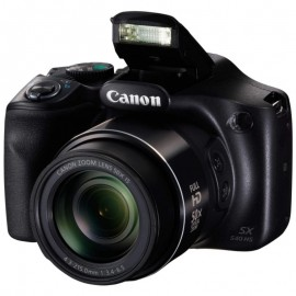 "Camera foto Canon PowerShot SX540 BK EU23, 20 MP, senzor CMOS tip 1/2,3 ,cu iluminare din spate, 50x Zoom optic, 100x Zoom digital, 3"" TFT,procesor imagine DIGIC 6, focalizare TTL, ISO3200, WiFi, efectefotografice, filmare Full HD movies 60 fps, NFC,"