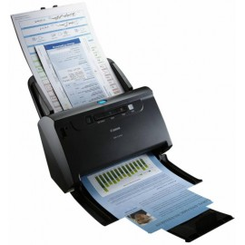 Scanner Canon DRC240, dimensiune A4, tip sheetfed, duplex, viteza de scanare: Alb-negru : 45 ppm/90ipm, Color: 30ppm/60ipm, rezolutie optica 600dpi, senzor CIS, alimentator 60 coli, software inclus: Driver ISIS/TWAIN, CapturePerfect, CaptureOnTouch, eCopy