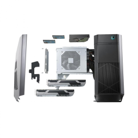 Dell Gaming Desktop Alienware Aurora R8, Alienware™ 850 Watt Multi-GPU Approved Power Supply, Intel® Core™ i7-8700 (6-Core/12-Thread, 12MB Cache, up to 4.6GHz with Intel® Turbo Boost Technology, 16GB Dual Channel DDR4 at 2666MHz, 256GB M.2 PCIe NVMe SSD (