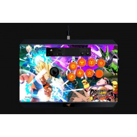 Gaming Controller Razer Dragon Ball FighterZ Panthera Arcade Stick for PS4, 10 tournament-grade Sanwa buttons, Authentic Sanwa joystick with ball top, Easy one-touch access to internals and storage, Fully accessible internals and storage compartments for