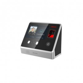 "Terminal cu recunoastere faciala, cititor biometric si cartele EM125Khz, DS-K1T605EF; ecran cu touch LCD 5"", modul cititor de cardincorporat (cartele EM 125Khz); Face recognition distance: 0.3m to 1m;Capacitate Max.2000 poze, Max.5000 amprente, Max,"